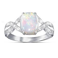 opal and diamond engagement rings shimmering elegance australian opal and diamond womens ring