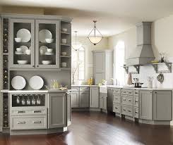 Gray Color Kitchen Cabinets Willow Gray Cabinet Color Homecrest Cabinetry