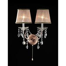 Crystal Wall Sconces Wall Sconces Kmart