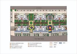 podium floor plan floor plans of sector ii b 3bhk flats in chakan dwarka township