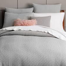 Organic Cotton Pintuck Duvet Cover Shams Organic Flannel Bedding Canada Bedding Queen
