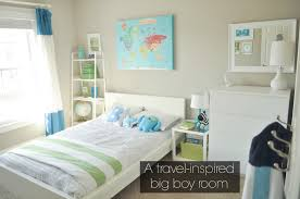bodhi u0027s travel inspired big boy room with modern simplicity plus