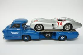 classic mercedes race cars sold model car cmc mercedes benz race transporter u0026 cmc w196r