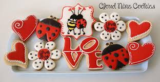 valentines day cookies bug s day cookies cookie connection