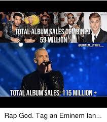 Eminem Rap God Meme - 25 best memes about album sales album sales memes