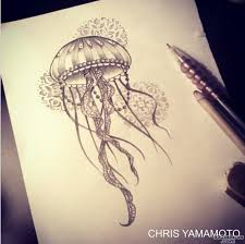 jellyfish tattoo photo num 14059
