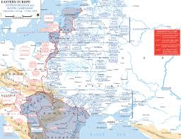 Germany Ww2 Map by Map Of Russia In Wwii August 19 December 31 1944