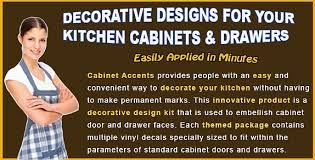 kitchen cabinet decals decorative design kit