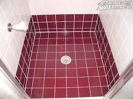 shower pan repair and tile work in chapel hill and durham