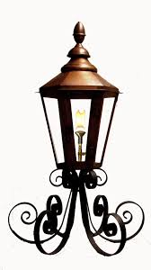 French Quarter Gas Lanterns by 25 U2033 Six Sided London Street Lantern On Custom U201csuper Scrolled