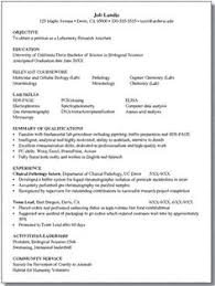 Sample Resume Internship by Resume For Biology Majors Good Idea For Any Major If You Need A
