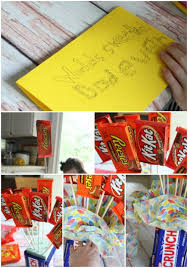 How To Make A Candy Bouquet How To Make A Candy Bouquet Gift For Father U0027s Day Livemore