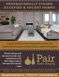 home staging services chilliwack langley u0026 fraser valley pair