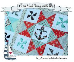 Nautical Quilt Come Sail Away With Me Nautical Quilt