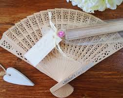 personalized fans for weddings wedding favors etsy dk