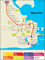 Athens Metro Map by Rio De Janeiro Metro Map Travel Map Vacations