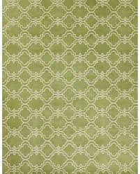 6x9 Wool Area Rugs Shopping Special Moroccan Scroll Tile Green Handmade