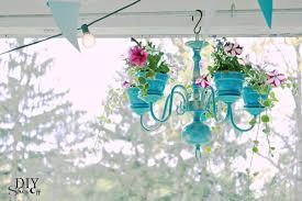 Outdoor Chandelier Diy 8 Diy Shabby Chic Outdoor Chandeliers Project Simple Life