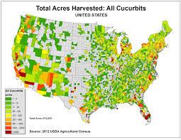 Maps Cu Maps Of Cucurbit Acreage Ipm Pipe
