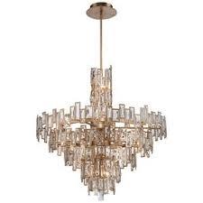 Light Crystal Chandelier Modern Crystal Chandeliers Allmodern