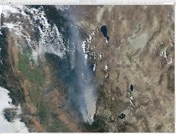 California Wildfire Satellite View by Rim Fire In California Cimss Satellite Blog