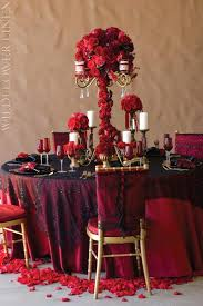 Red And Gold Reception Decoration Red And Brown Wedding Decorations Champagne And Gold Wedding
