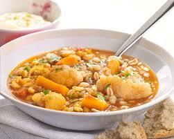 raifort cuisine soupe repas végétarienne aux lentilles et au raifort colruyt