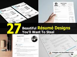 Do U0027s And Don U0027ts From The 23 Most Creative Resume Designs We U0027ve by Beautiful Resume Designs Download Eliolera Com