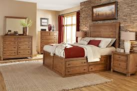 rustic bedroom furniture with gun storage a natural look to your