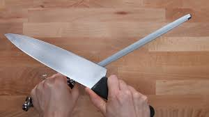 sharpening kitchen knives with a how to sharpen dull knives
