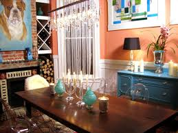 Blue Dining Room Ideas Mesmerizing 90 Orange Dining Room Design Ideas Design Inspiration