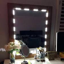 vanity mirror with led lights diy vanity mirror with led lights mirror with regard to awesome home