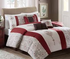 Red And Grey Comforter Sets Bedding For The Home Big Lots