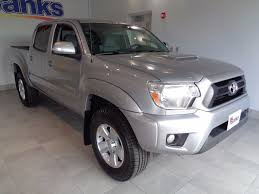 used toyota 2015 used toyota tacoma 4wd double cab v6 at trd pro at banks