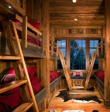 log cabin bunk beds stunning bathroom small room with log cabin