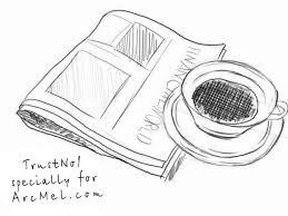 how to draw a newspaper step by step arcmel com