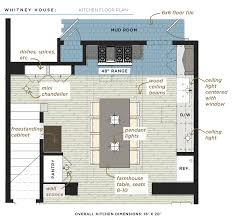 Kitchen Floor Plan Dimensions by Whitney House The Kitchen The Made Home