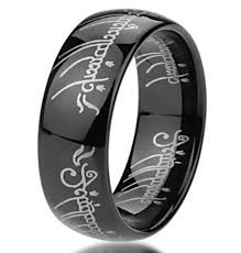 black steel rings images Stainless steel 316 one ring elvish png