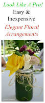 Arrangments Easy And Inexpensive Summer Floral Arrangements Exquisitely
