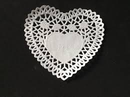 heart doilies 2018 8 heart doilies paper heart lace paper placemats embossed