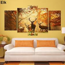 5 pcs wall art paintings no frame posters home decor living room