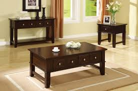 coffee table set mission style espresso huntington beach furniture