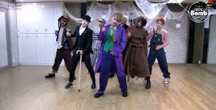 video bts shares halloween themed dance practice u2014 koreaboo