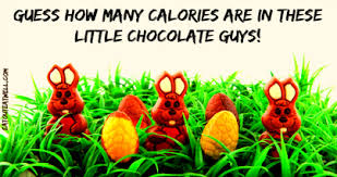 reese s easter bunny guess how many calories are in your favorite chocolate bunnies and