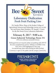 Fresno State Campus Map Bee Sweet Citrus