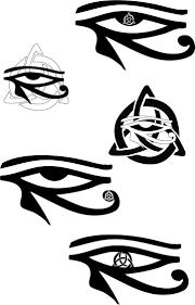 options tattoos horus and tatoos