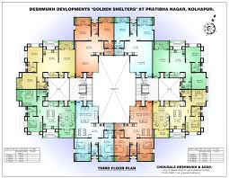 apartment floor plans designs small building one bedroom