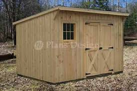 Diy Lean To Storage Shed Plans by 7 U0027 X 12 U0027 Modern Storage Lean To Shed Plans 80712 Storage