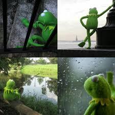 Kermit Meme Generator - depressed kermit blank template imgflip