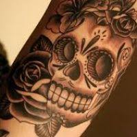 skull flower tattoo flowers ideas for review